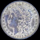 1893 U.S. Morgan silver dollar