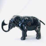 Vintage elephant mechanical bank