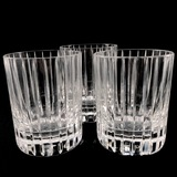 Lot of 3 authentic Baccarat