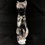 Estate Baccarat crystal panther