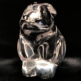 Estate Baccarat crystal rabbit