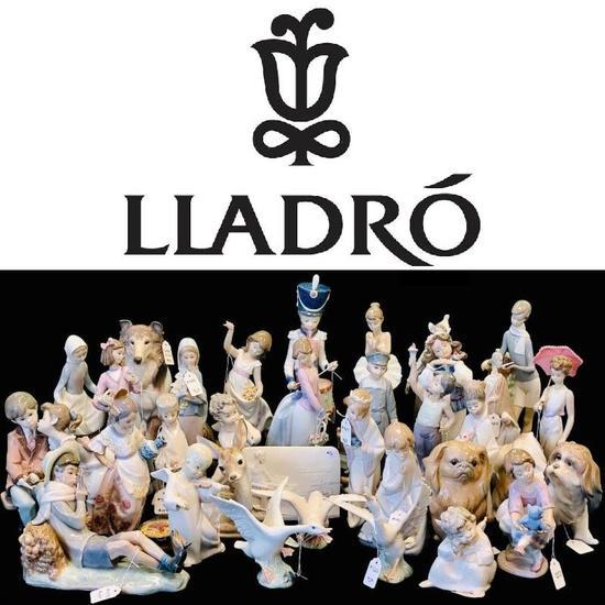 Nothing but genuine Lladro porcelain!