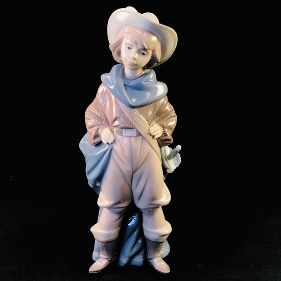 "Estate Lladro #6120 ""Musketeer Dartagnan"" porcelain figurine"
