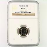 Certified 1966 special Mint set U.S. Roosevelt dime