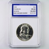 Certified 1956 U.S. Franklin half dollar