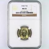 Certified 1944-P U.S. Jefferson nickel