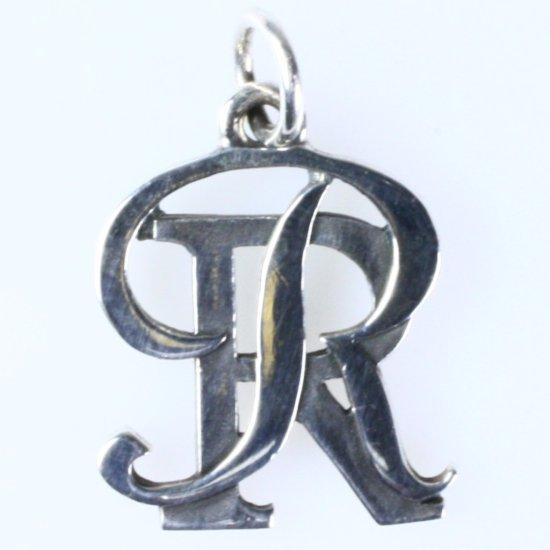Estate James Avery sterling silver Ronald Reagan High School charm