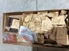 Box Lot, Large no. of Military Insulators 4-12763