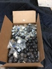 Box Lot of Round & Dial Knobs, est WT. 25lbs.