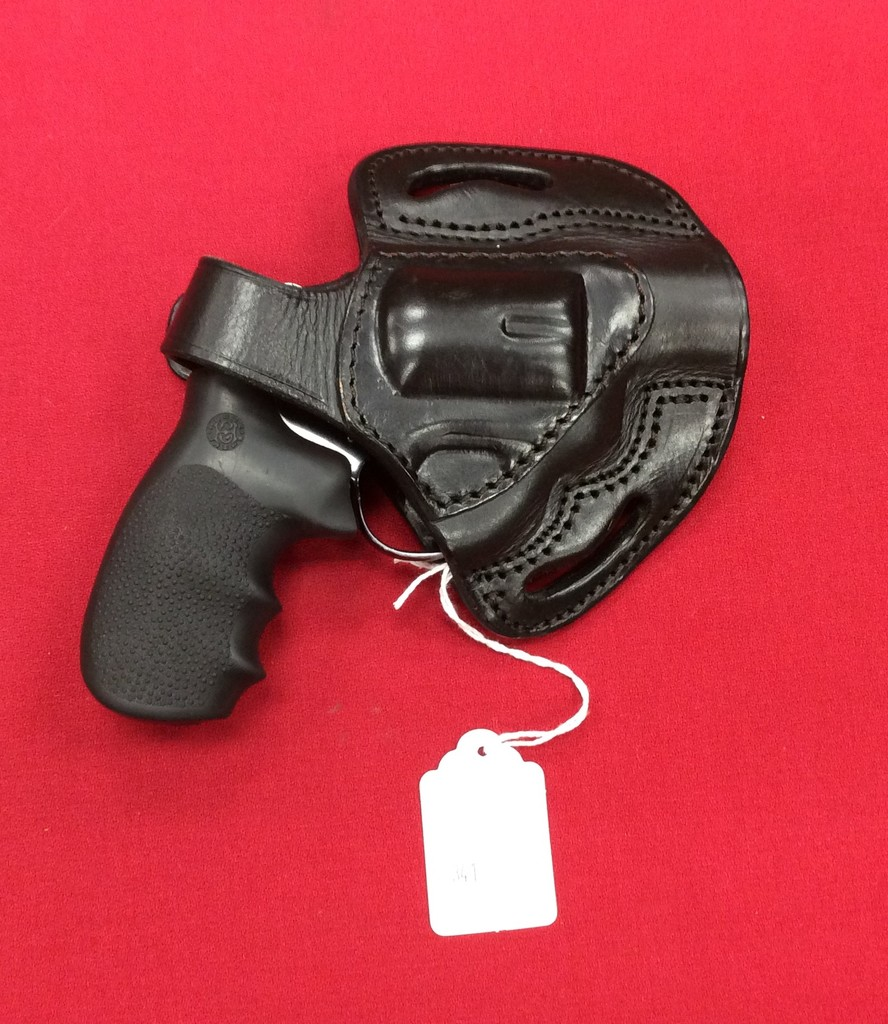 Colt Cobra .38 Special Revolver with Leather Holster