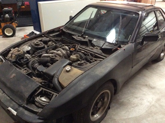 1983 Porsche 944, 26,000 Miles, Sun Roof, Spare Tire, Not Running, with Tit