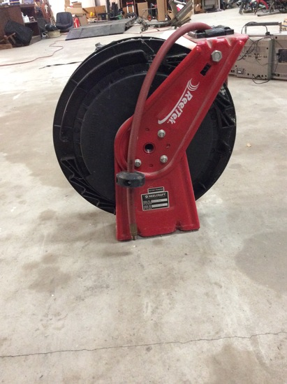ReelTek Model# RT650-OLP Air Hose Reel