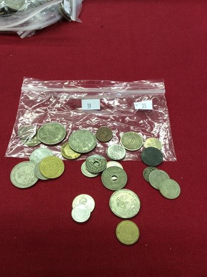 25 World Coins