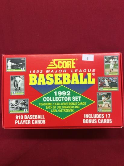 1992 Score Baseball Collector Set