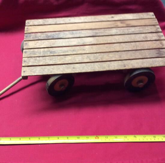 Toy Hay Wagon