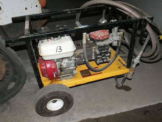 2007 Hurco HTP10-500 Hydrostatic Test Pump