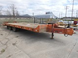 2004 Interstate 10 Ton Tag Trailer, SN:1JK0DT2024M005186, Tandem Dually, 20