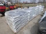 Row (5) Pallets of Salt