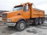 1998 Ford L9000 Triaxle Dump Truck, SN:1FDZS96T9WVA03820, Cat 3306-300 Dies