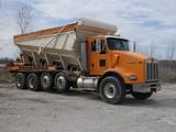 2004 (not '05) Kenworth Dahms Stone Slinger Quad Axle Truck, SN:1NKDL00X34J