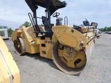2011 Caterpillar CB54XW Tandem Vib. Roller, SN:JLM00441, 78'' Drums, 5164 h