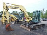 2006 Yanmar VIO75 Mini Excavator, SN:11787B, EROPS w/ Air, Quick Coupler, 1