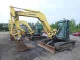 2008 Yanmar VIO75 Mini Excavator, SN:13164B, EROPS w/ Air, Quick Coupler, 1