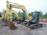 2007 Yanmar VIO75 Mini Excavator, SN:12527B, EROPS w/ Air, Quick Coupler, 1