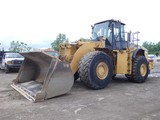 2006 Cat 980H Wheel Loader, SN:HVJMS00918, EROPS w/ Air, GP Bucket, Scale,