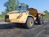 2005 Caterpillar 740 6x6 Articulated Dump Truck, SN:AXM1972, Tailgate, 11,2