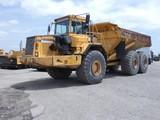 Volvo A40 6x6 Articulated Dump Truck, SN:A40V1521, 21,266 hrs.