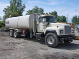 1999 Mack RD690S 5000g Water Truck, SN:1M2P289CXYM031003, Mack EM7-275, Mac