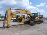 2006 Caterpillar 345C Hydrauilc Excavator, SN:PJW1029, Counterweight Remova