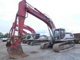 2007 Link-Belt 330LX Hydraulic Excavator, SN:K6J7-2582, Aux. Hyd., 36'' Buc