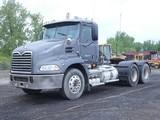 2009 Mack CXH613 Tandem Truck Tractor, SN:1M1AW02Y89N007414, Mack MP-405 En