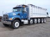 2007 Mack CV713 5-Axle Dump Truck, SN:1M2AG10C17M052980, Mack AI-460 (2006)