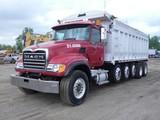 2003 Mack CV713 5-Axle Dump Truck, SN:1M2AG10C03M008169, Mack AI-460, Fulle