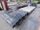 1992 TrailKing TK70 35 Ton Tandem Detach Lowboy, SN:1TKC02425NM071773, 22'6