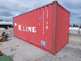 K-Line 20' CONEX Container, SN:KKTU790282, Air / Water Tight, NO LEAKS