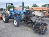 1989 Ford 2810 Broom Tractor, SN:BC24075, Diesel, Front Broom (angle arm br