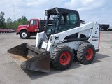 2012 Bobcat S630 Skid Loader, SN:A3NT14061, EROPS w/ Air (Door in Container