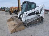 2014 Bobcat T750 Compact Crawler Skidloader, SN:ATF613603, EROPS w/ Air, Pe