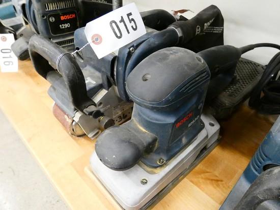 Bosch Belt Sander & Pad Sander
