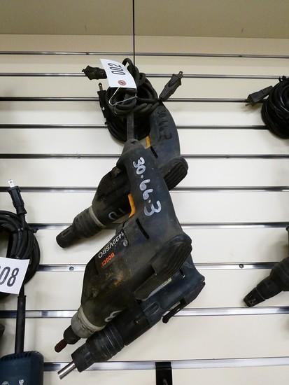 (3) Bosch Screw Shooters