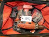 Ast'd Milwaukee V28 Cordless Tools