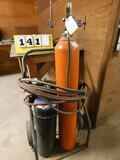 Torch Set w/ Tanks & Cart