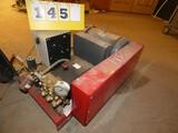4000psi Elec. Pressure Washer, 10hp 220v 1-Phase Motor & Hose Reels