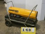 Master 150k BTU Torpedo Heater