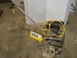 Soff-Cut X150 Concrete Saw, Honda (w/ Box of belts, etc)