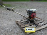 MBW 42'' Power Trowel, Honda 8hp Gas